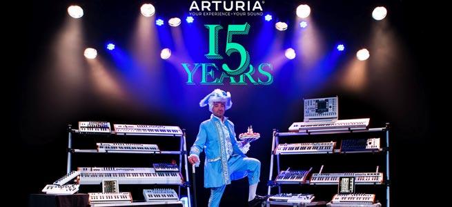 Arturia-Turns-15