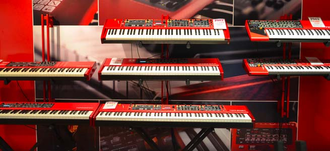 Nord-Keyboards