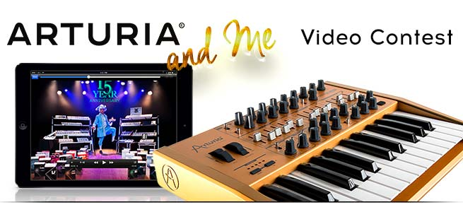Arturia-Video-Contest