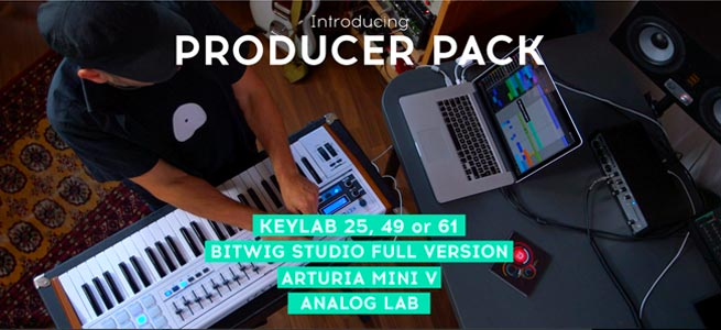 Arturia-Bitwig-Producer-Pack